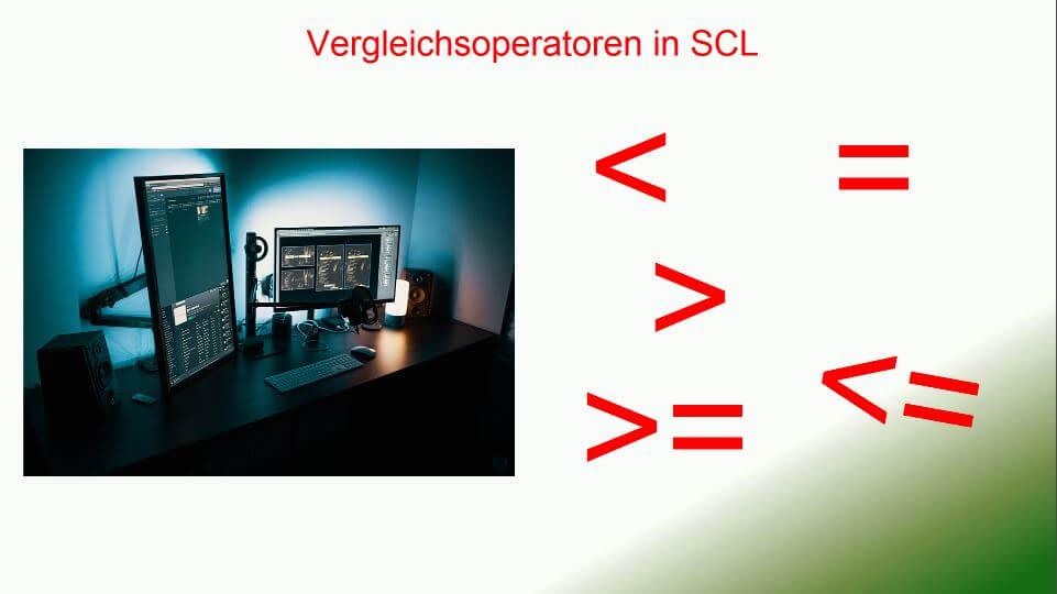 Vergleichoperatoren SCL