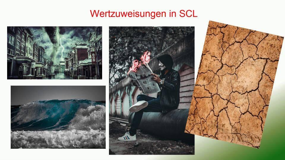 Wertzuweisung in SCL
