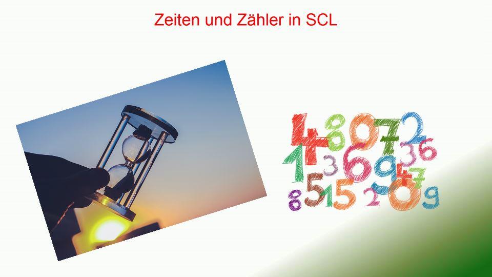 Zeiten und Zähler in SCL