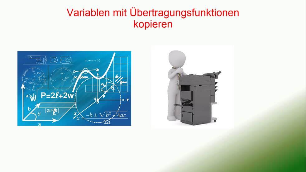 Übertragungsfunktionen Move