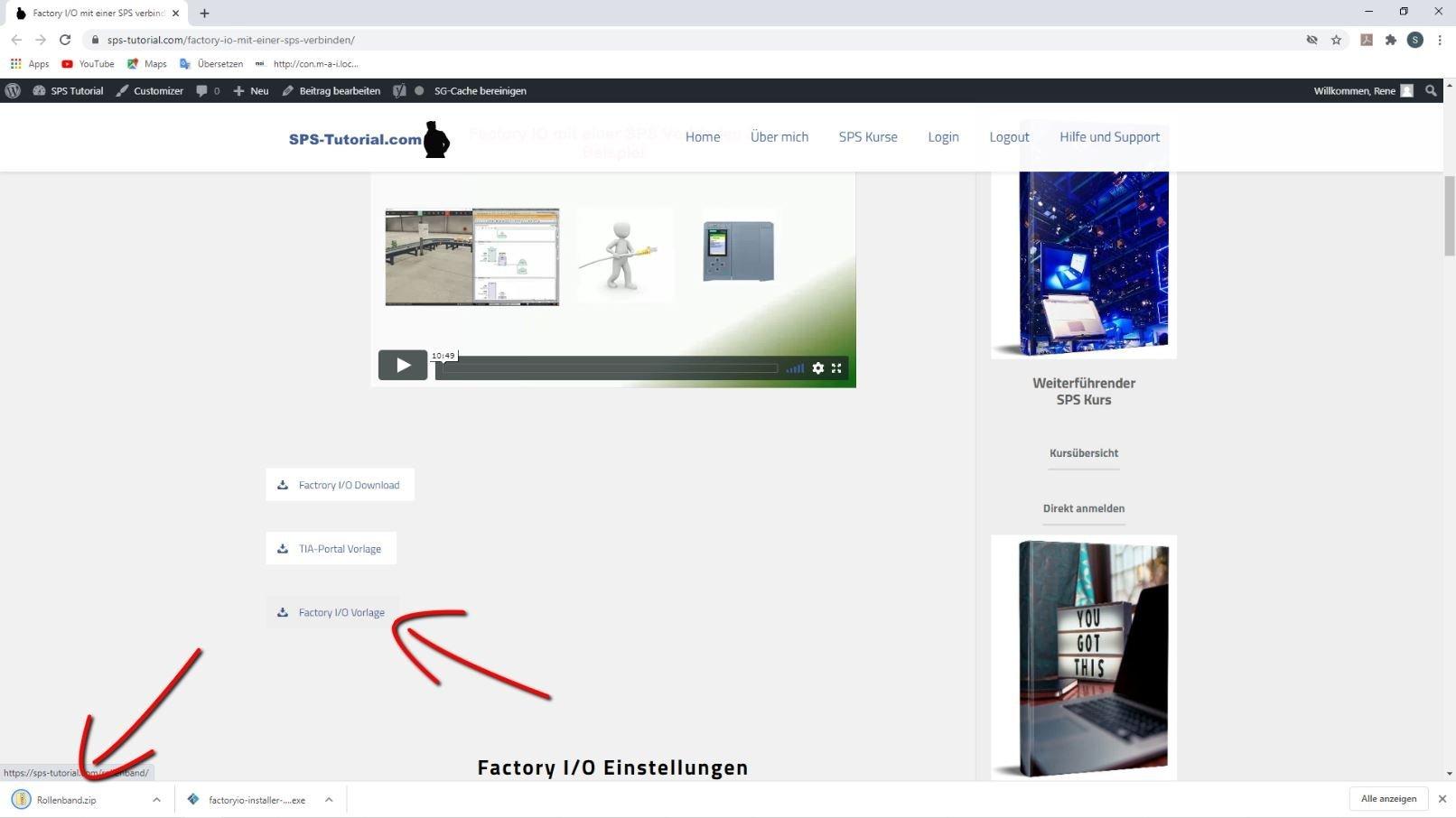 Factory IO Vorlagen Download